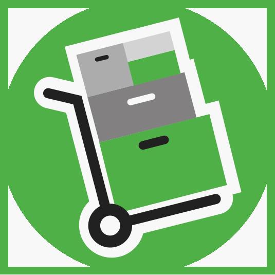 trasporto scatole e archivi